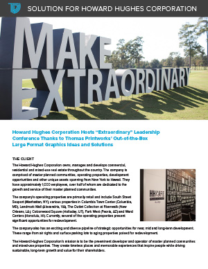 Howard Hughes Corporation Case Study